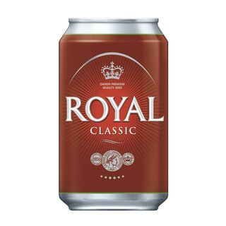Ceres Royal Classic 24x0,33 Cans Export 108 trays/pallet