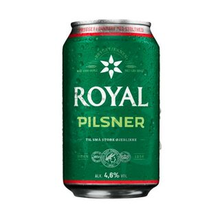 Ceres Royal Pilsner 24x0,33L Cans Export 108 trays/pallet