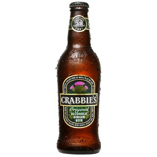 Crabbies Original Ginger beer 4% 12x0,33L 132 trays/pallet
