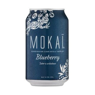 CULT Mokai Blueberry&Mint 18x0,33L EXPORT 144 Trays / Palette