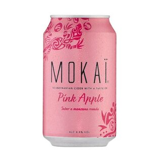 CULT Mokai Pink Apple 18x0,33L EXPORT 144 Trays / Palette