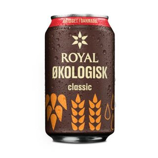 Royal Økologisk Classic 24x0,33 Cans.Export 108 trays/pallet