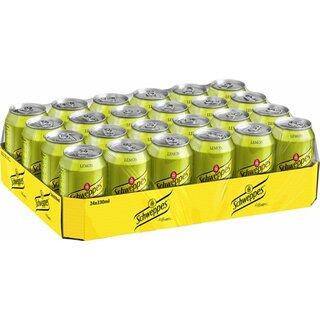 Schweppes Lemon 24x0,33 l Export 108 trays/pallet