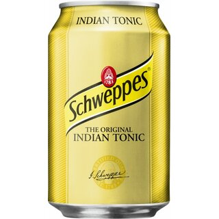 Schweppes Tonic Water 24x0,33lExport 108 Trays / Palette