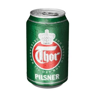 Thor Pilsner 24x0,33 Cans Export 108 trays/pallet