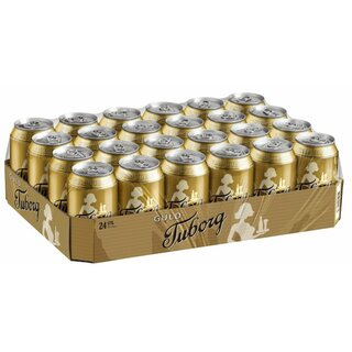 Tuborg Guld 24x0,33L Cans.Export 99 trays/pallet