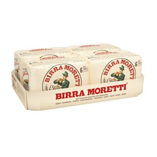 Birra Moretti 24x0,33 Ds.Export 4,6% 120 Trays / Europal