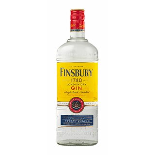 Finsbury Dry Gin 1L 37,5%